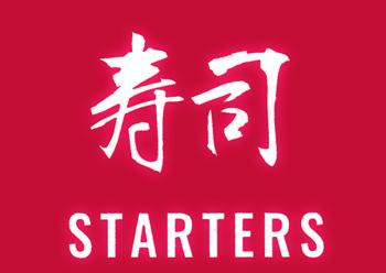 Feng Chophouse Sushi/Nigiri Menu - Symbol - Starters
